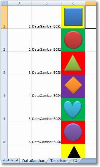Cara Menampilkan Foto Otomatis Di Excel